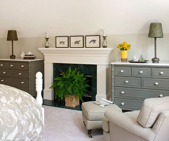 Bedroom Storage Solutions Fireplaces Ferns And The