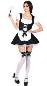 Flirty French Maid Costume SF0088 ,, plus size French Maid fancy dress costue