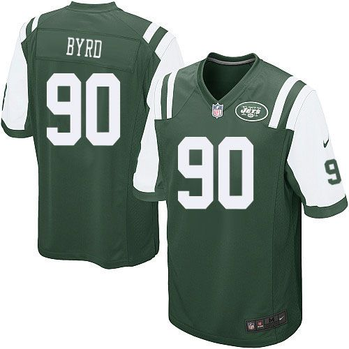 NFL New York Jets Dennis Byrd Youth Limited Green #90 Jerseys
