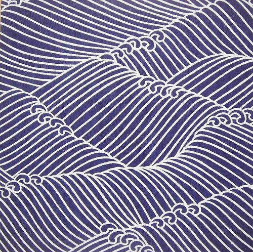 Waves / Japanese pattern