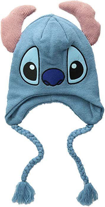 eb9b9f39141 Amazon.com  Disney Men s Stitch Winter Hat with Ears