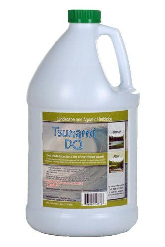 Fancy Tsunami DQ Pond Weed Control Killer diquat Full Quart
