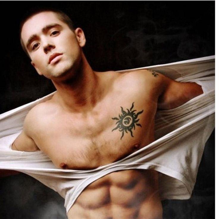 мода боди-арт татуировка наклейки солнце шаблон водонепроницаемый временные татуировки бумаги