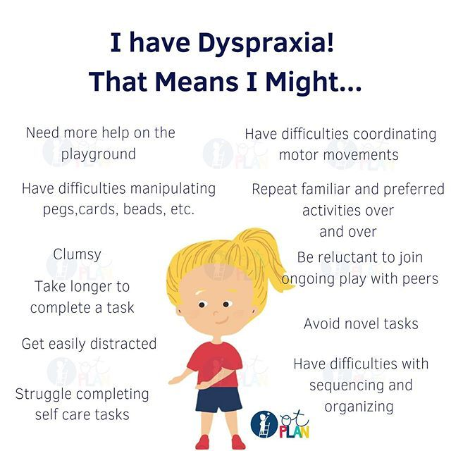 Dyspraxia Aka Developmental Coordination Disorder Or Dcd Is A Neurological Disorder That Impacts Motor Memory J In 2020 Dyspraxia Play To Learn Cognitive Development