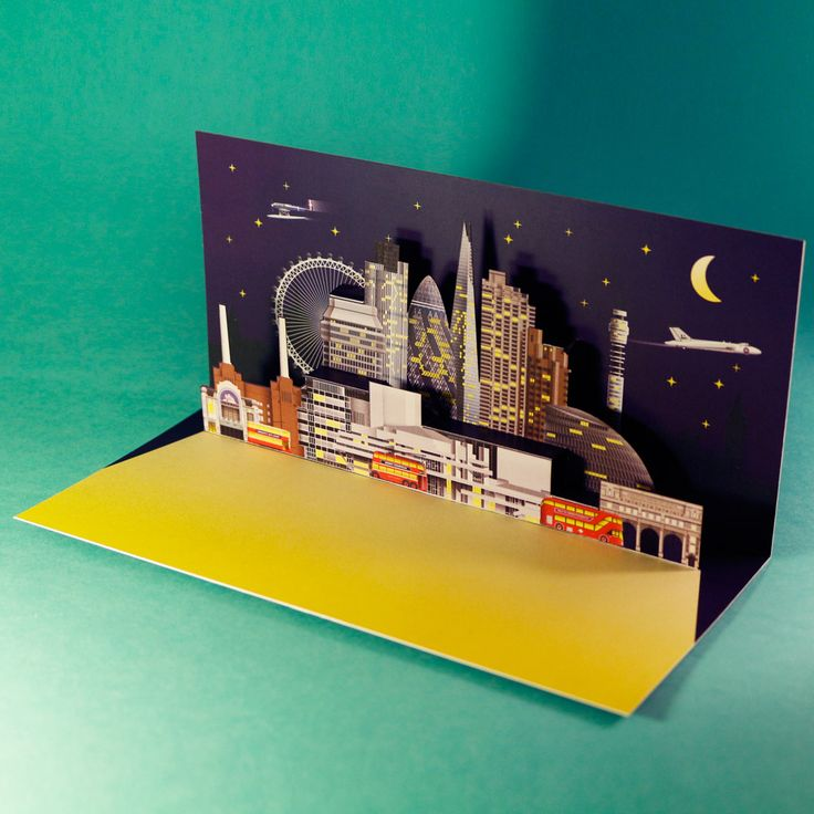 Lukas Novotny – graphic design, paper engineering » 3D Pop Up Cards
