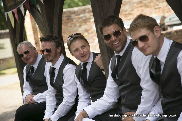 Waistcoats for the groom bestman and ushers as an alternative to morning suits or lounge suits. Wedding photographer in Kent, Tim Stubbings. Photography bookings taken across the UK and beyond but also photographing weddings locally in Canterbury, Whitstable, Faversham, Sevenoaks, Tunbridge Wells and London. http://www.timstubbings.co.uk
