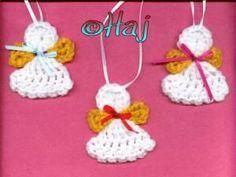 Crochet baby angels - free pattern