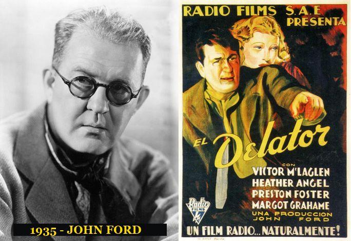 Premio al mejor Director de la película El Delator en el año de 1935, la ceremonia de entrega del Oscar fue en Marzo de 1936.