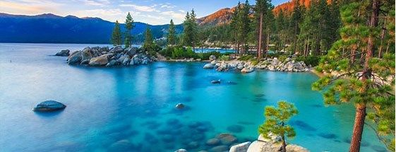 Sand Harbor in Lake Tahoe Nevada State Park, Nevada ...