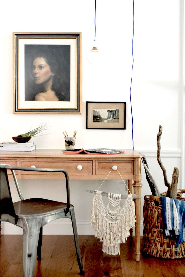 my scandinavian home: Beautiful inspiration from the book 'Your Creative Work Space' by Desha Peacock (photo Sara Banner)