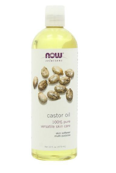 100% Pure Castor Oil Multi-Purpose for soft skin and hair,good for massage.16oz…