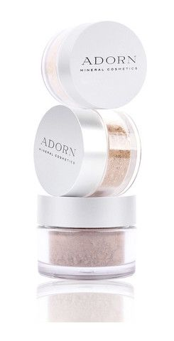 The perfect time saving product. Adorn cosmetics mineral foundation which includes SPF 15+  protection. An absolute life saver to prevent wrinkles, sun damage, age spots and uneven skin tone.