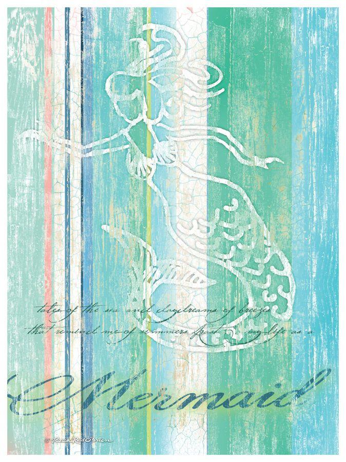 Mermaid Artwork, by Patrick Reid O'Brien