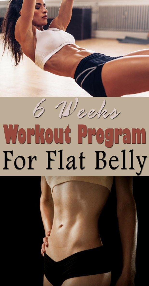 With this amazing easy workout you can get a tight stomach in just six weeks without doing crunches. Just follow the specialists' advice and you will see the results. You should start with the Basic Workout and after three weeks you may continue with Advanced Workout. Practice the moves three nonconsecutive days a week.