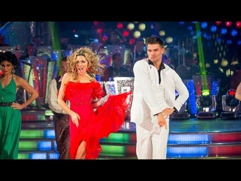 ▶ Abbey Clancy & Aljaz dance the Salsa to 'You Should Be Dancing' - Strictly Come Dancing - BBC One - YouTube