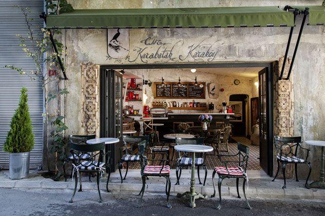 Karabatak Cafe in Istanbul