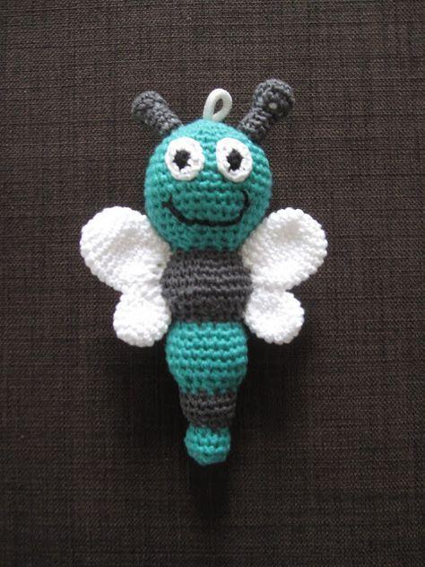 Schmetterling häkeln gratis Anleitung #diy #crochet #pattern #häkeln #anleitung