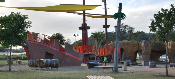 Treasure Island playground qld...fantastic playground!