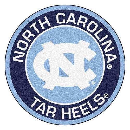 North Carolina Tar Heels NCAA Rounded Floor Mat (29in)