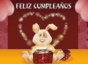 Tarjeta gratis de Cumpleaños para tu Amor | Mágicas postales animadas gratis | CorreoMagico.com