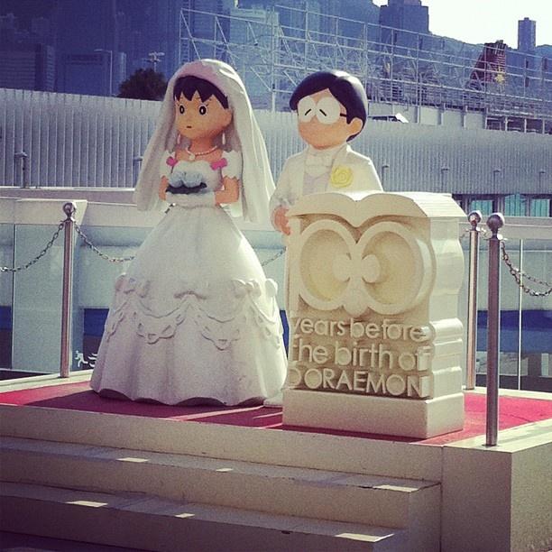 Nobita and Shizuka  - @jrhapsodies- #webstagram