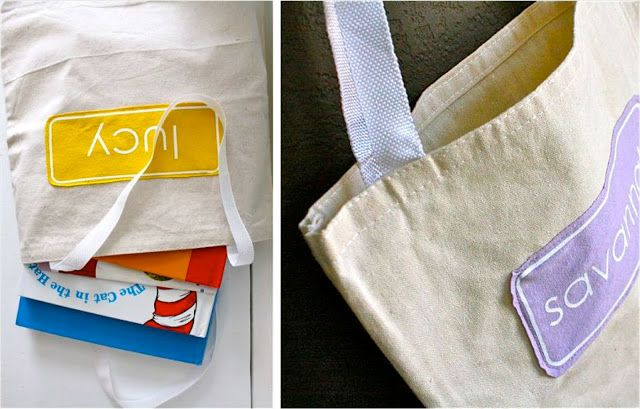 сумка для книг