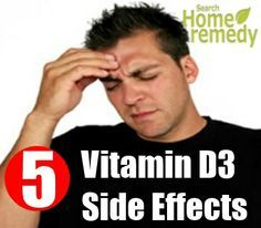 5 Most Common Vitamin D3 Side Effects
