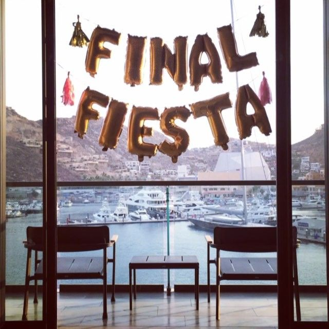 What happens in Cabo gets posted on Instagram. Good thing this #finalfiesta was mild.