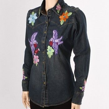 Embroidery Designs On Shirts
