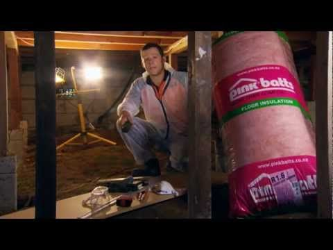 How to Install Underfloor Insulation   Mitre 10 Easy As
