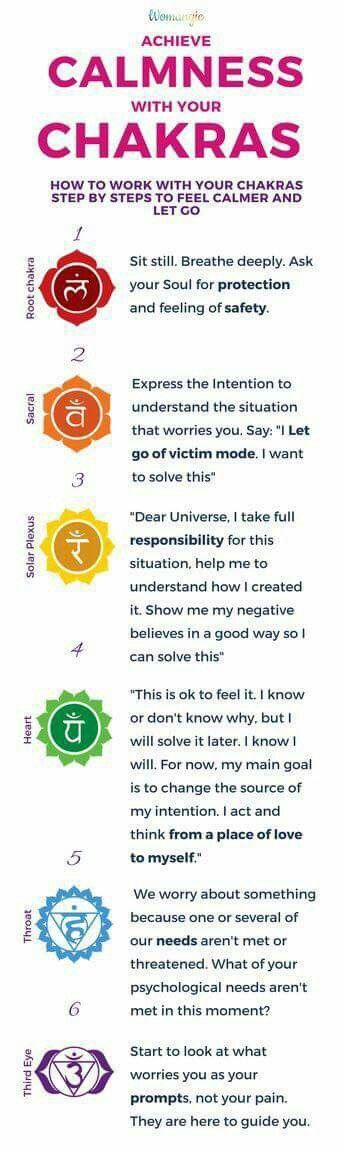 Calmness through Chakras