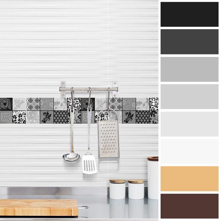Los tonos negros y grises logran que un espacio se vea sofisticado y elegante