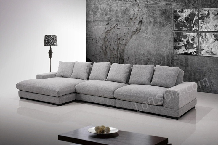 Super comfortable grey sectional this large sofa is made for Super comfortable sectional sofa