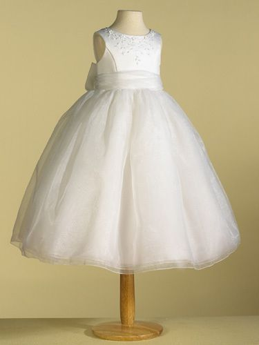 Ladybug 1082 Flower Girl or Communion Dress...this one is it!!!! Love the back and everything!!