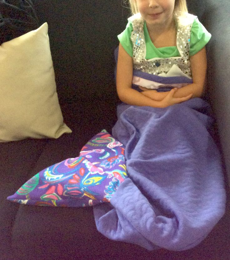 Mermaid Snuggle Sack