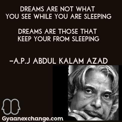 a inspiring quote from the missile man of india dr a p j