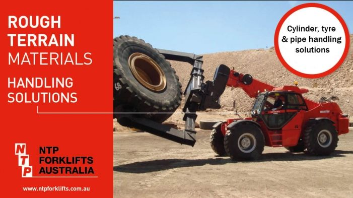 NTP are specialists in forklift rental