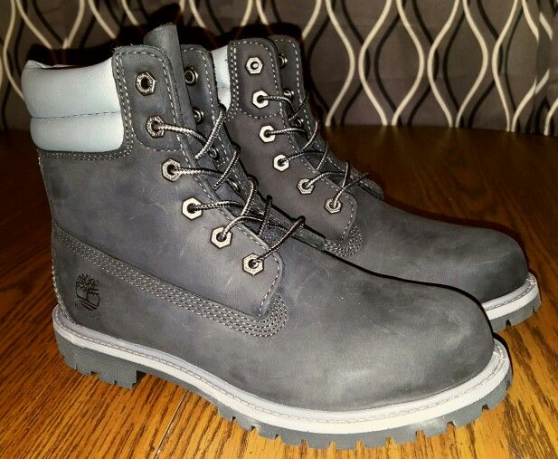 Womens black 6 inch Timberland boot style #A11AF