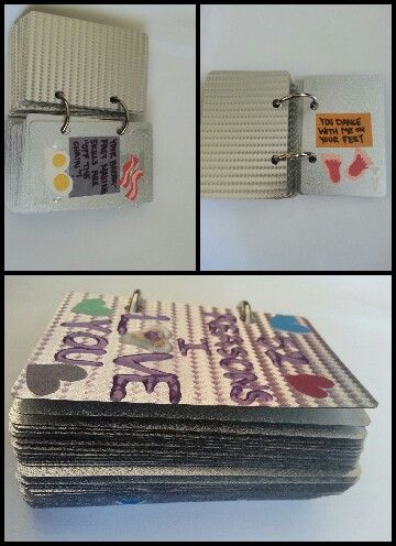 I Used Silver Playing Cards Got Them At Fireworks Adhesive Coloured Paper For The Inserts Of Why Love Him And Cut Out