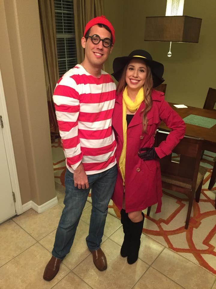 Couples Costume idea: Where's Waldo and Carmen Sandiego