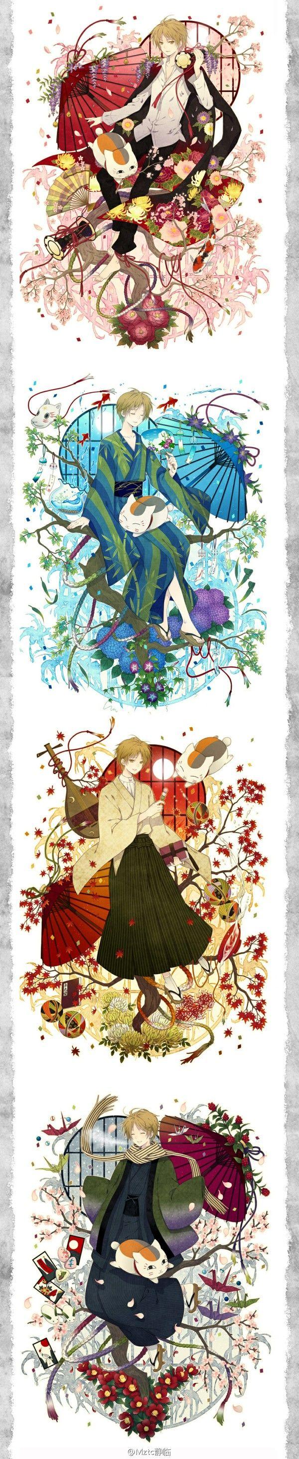 Natsume Takashi & Madara | Natsume Yuujinchou #manga