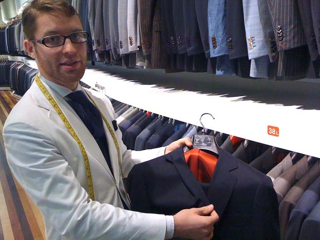 suit supply - made-to-measure staff