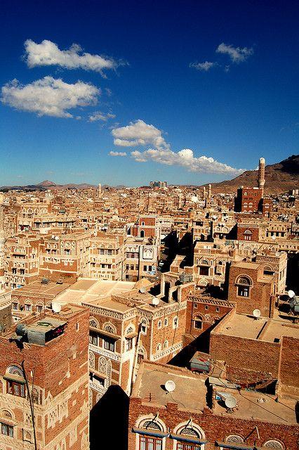 サヌア旧市街  イエメン