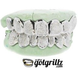 Looking to buy 10K and 14K white gold grillz in Texas? If so, visit www.GotGrillz.com for hip-hop inspired grillz at a fraction of the cost. We have white gold teeth grillz in different styles to suit your wardrobe and budget.