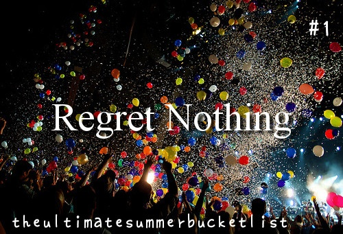 The Summer Bucket List.. I seriously hope I can do this one