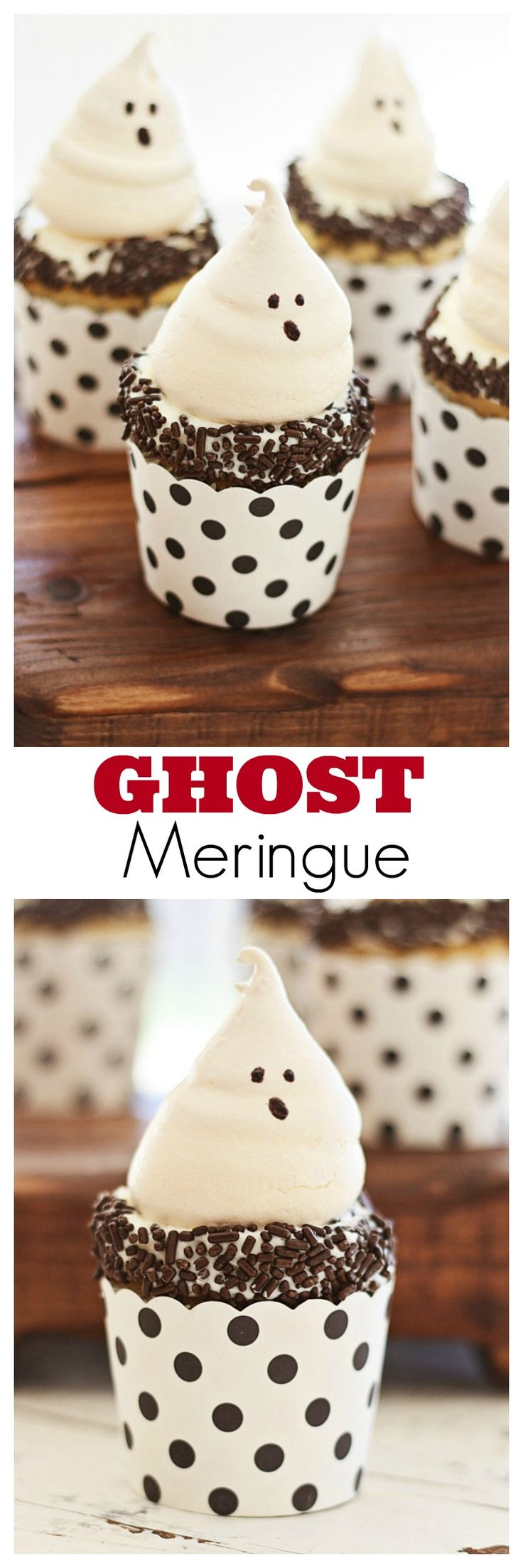 Ghost Meringue – the most amazing and cutest cookies for Halloween, sure to please both kids & adults with its great taste   rasamalaysia.com