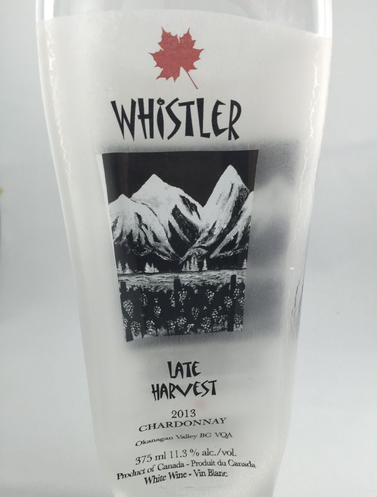Whistler wine hanging decoration.  Perfect gift for a wine lover.