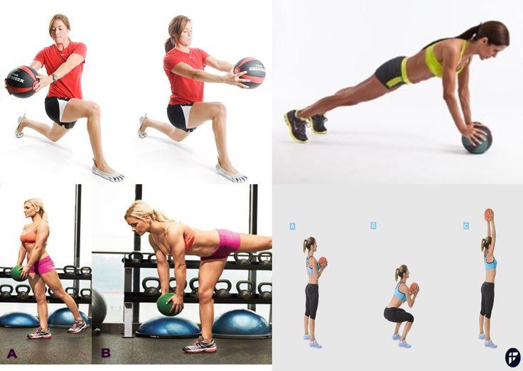7 Exercícios de Força com Bola Medicinal para Runners - Corre Salta e Lança