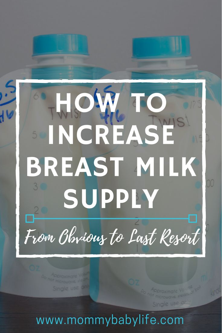 How To Increase Breast Milk Supply From Obvious To Last -9136