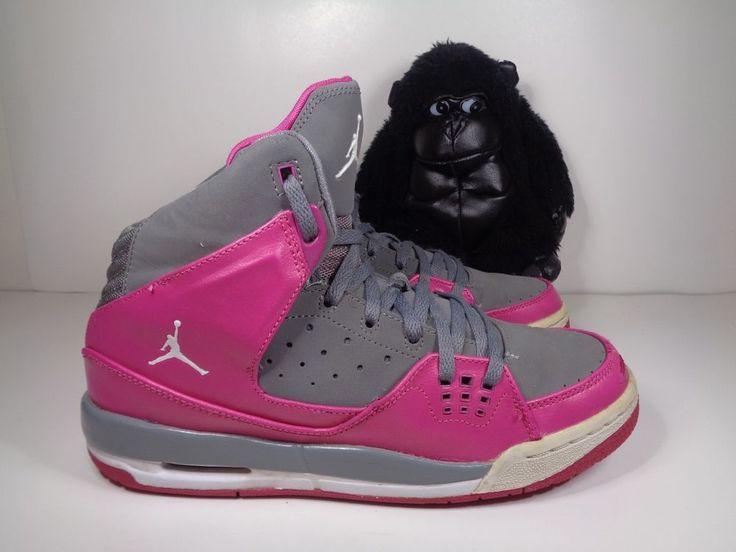 Kids Nike Air Jordan SC-1 Pink Girls Basketball shoes size 7 Y 439655-043 #Nike #Athletic